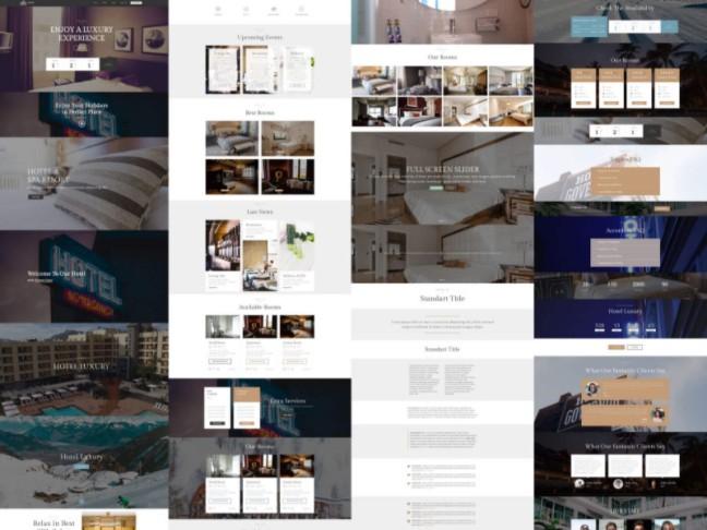 Mobirise Hotel Website Templates Maker v4.6.5 – New theme! – Mobirise