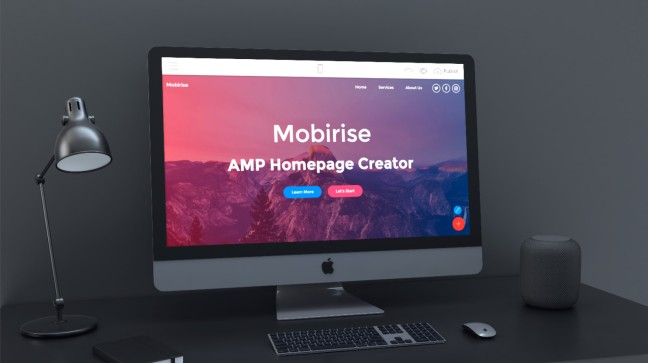 Mobirise AMP Homepage Creator v4 7 8 is out! – Mobirise