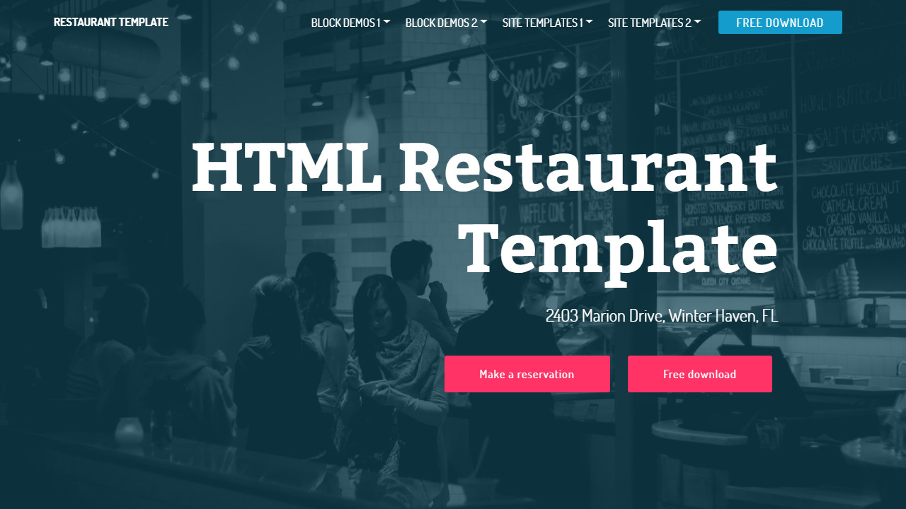 Free Html Homepage Templates And What You Really Can Using Them Mobirise